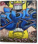 Graffiti Art Curitiba Brazil 7 Acrylic Print by Bob Christopher
