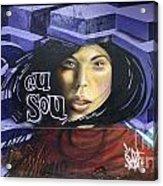 Graffiti Art Rio De Janeiro 3 Acrylic Print