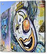 Graffiti Art Santa Catarina Island Brazil 1 Acrylic Print by Bob Christopher