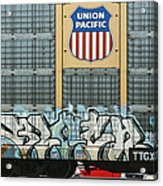 Graffiti II Acrylic Print