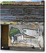 Graffiti In Veliko Tarnovo  Acrylic Print