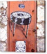Graffiti Acrylic Print by Roberto Alamino