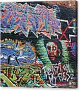 Graffiti Series 01 Acrylic Print