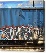 Graffiti - Sleeping Beauty Acrylic Print