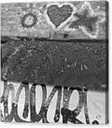 Graffiti Table 2 Acrylic Print