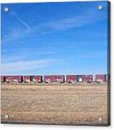 Graffiti Train Acrylic Print