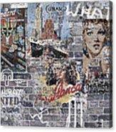 Graffiti Walls Acrylic Print