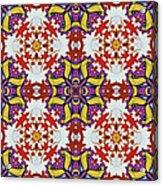 Graffito Kaleidoscope 40 Acrylic Print