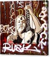 Grafiti Acrylic Print by Sharon Costa