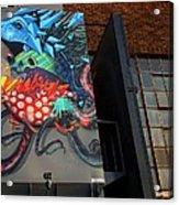 Grafitti And The Panes Acrylic Print
