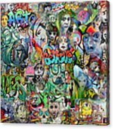 Grafitti Dream Acrylic Print