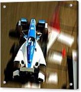 Graham Rahal Indy Racer Acrylic Print