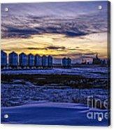 Grain Barns Acrylic Print