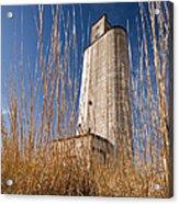 Grain Elevator Acrylic Print