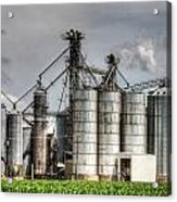 Grain Elevators Acrylic Print