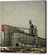Grain Storage Acrylic Print