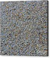 Grainy Sand Acrylic Print by Michael Mooney