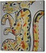 Gran Jaguar Acrylic Print by Juan Francisco Zeledon
