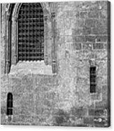 Granada Cathedral Monochrome Acrylic Print