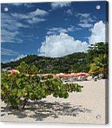 Grand Anse Beach - Grenada Acrylic Print