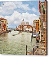 Grand Canal Apartment Acrylic Print