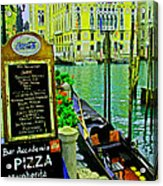Grand Canal Scene Acrylic Print
