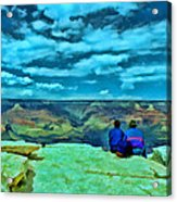 Grand Canyon # 7 - Hopi Point Acrylic Print