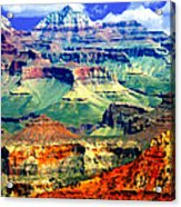 Grand Canyon After Monsoon Rains Acrylic Print