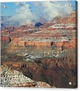 grand Canyon After the Snow Acrylic Print