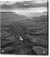 Grand Canyon And Colorado River Acrylic Print