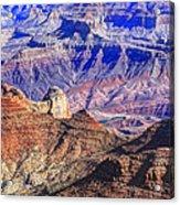 Grand Canyon And The Colorado River Acrylic Print