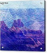 Grand Canyon As A Painting 2 Acrylic Print