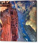 Grand Canyon Awe Inspiring Acrylic Print