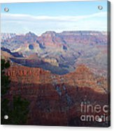 Grand Canyon Beauty Acrylic Print by Janice Sakry