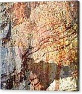 Grand Canyon Color Study Acrylic Print
