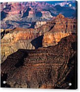 Grand Canyon Colors Acrylic Print
