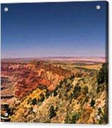 Grand Canyon Desert View Watchtower Panorama Acrylic Print