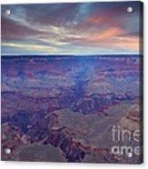 Grand Canyon Dusk Acrylic Print by Mike  Dawson