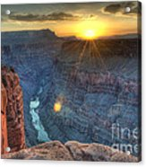 Grand Canyon First Light Acrylic Print