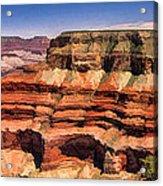 Grand Canyon Mesa Panorama Acrylic Print