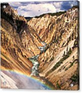 Grand Canyon Of Yellowstone 1 Acrylic Print