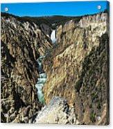 Grand Canyon Of Yellowstone Acrylic Print
