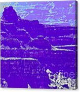 Grand Canyon Purples Acrylic Print