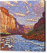 Grand Canyon Riffle Acrylic Print