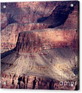 Grand Canyon Shapes Acrylic Print