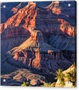 Grand Canyon Sunset Ridge Acrylic Print