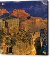 Grand Canyon - The Wonders Of Light And Shadow - 1a Acrylic Print