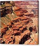 Grand Canyon Valley Depths Acrylic Print