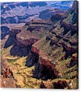 Grand Canyon Valley Trail Acrylic Print