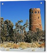 Grand Canyon Watch Tower Acrylic Print